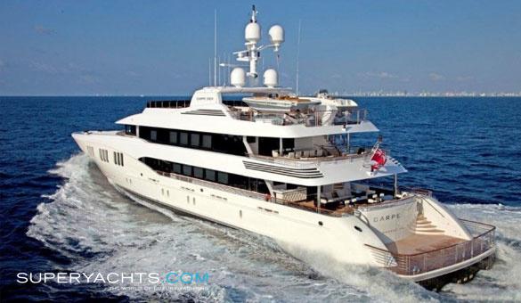 carpe diem charter trinity yachts motor